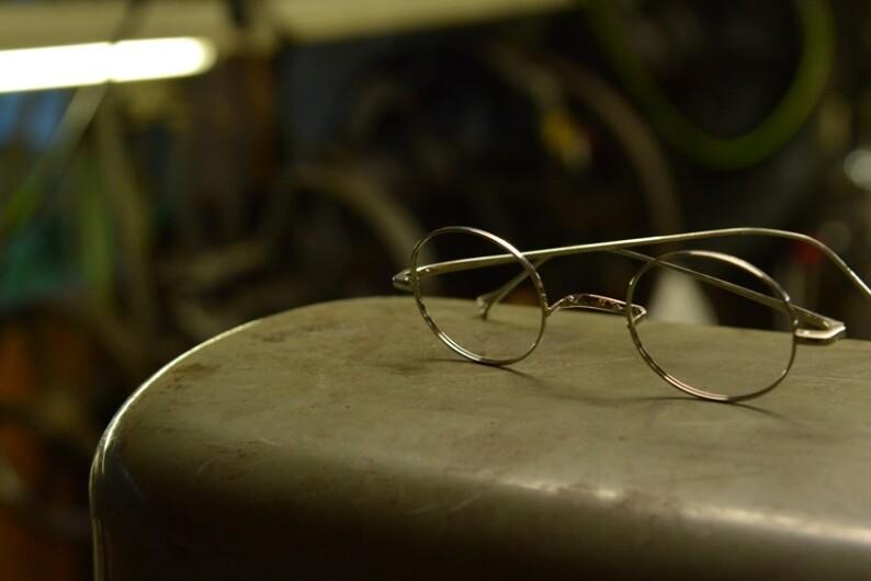 金子眼鏡の大定番!!井戸多美男作の名品が久しぶりに入荷しました