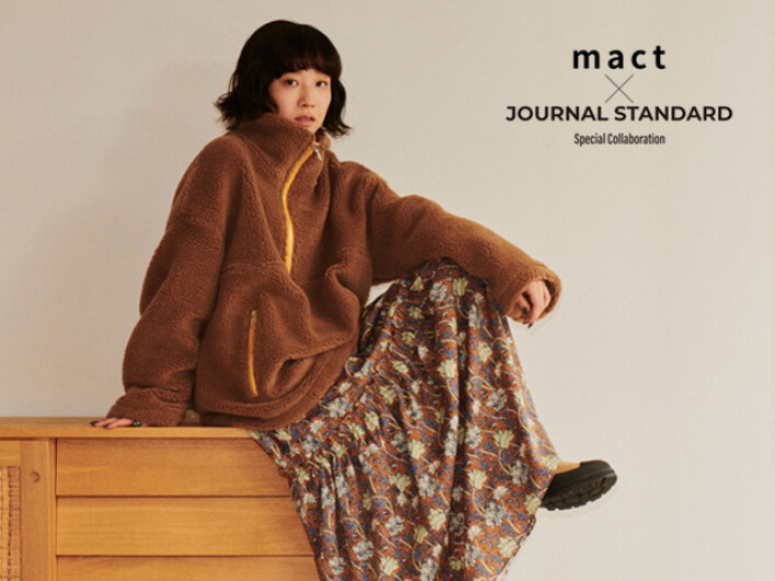 mact×JOURNAL STANDARD Special Collaboration