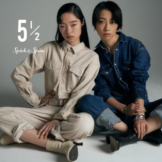10/22一斉発売‼5 1 /2 GOSEN New Collection Debut !!