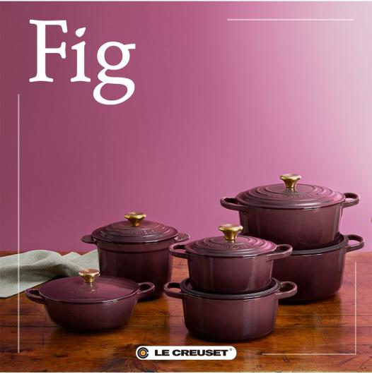 秋の色合いが美しいシーズナルカラー「フィグ」シリーズ発売