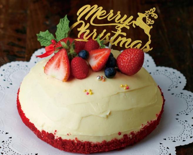 Bubby's クリスマス・レッドベルベットケーキ 2020 予約受付中!