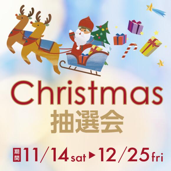 クリスマス抽選会開催